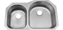 70/30 Reverse Split Polished Sink
