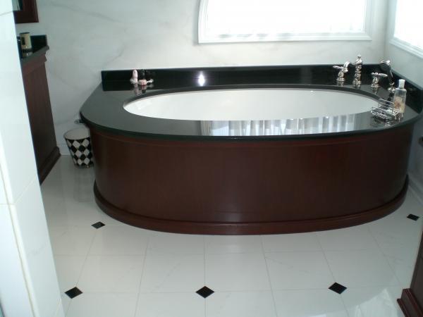 custom bath 1 - Custom Bathroom Countertops