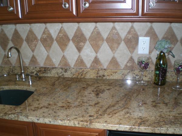 Mo Kono Brown Granite : American granite tile design ideas
